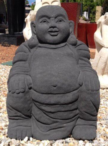 Laughing Fat Buddha Black FJR032
