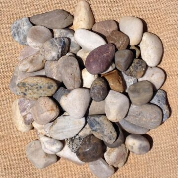 Mixed Polished Pebbles 20 - 40mm