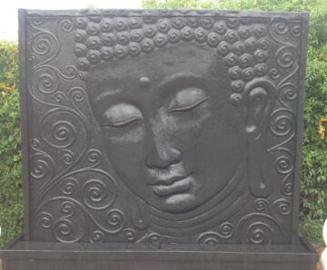 OSA001 Buddha Face Panel Black