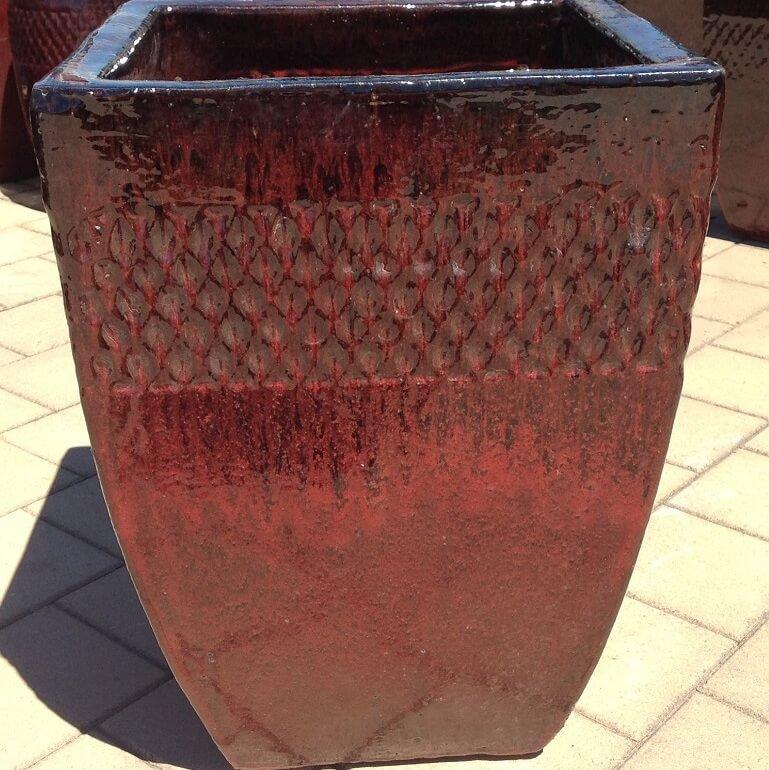 Bella Pot Cognac Red ST322145