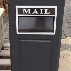 Charcoal Letterbox