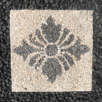 BSS3 Creme Black Diamond Flower