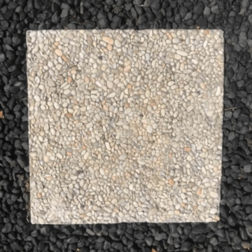 BSS9 Creme Plain Pebble Paver