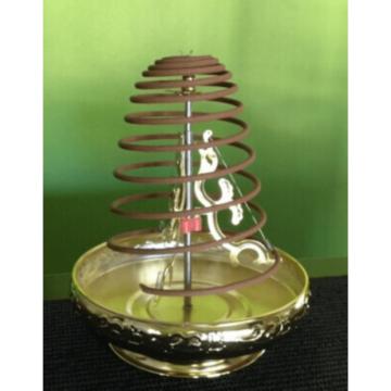 Balinese Ornate Incense Coil Holder