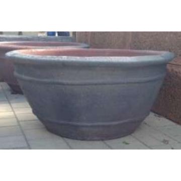 OS059 Large Oldstone Aqua Bowl