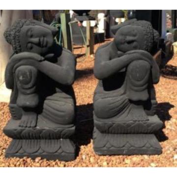 SGR022 Black Relax Buddha