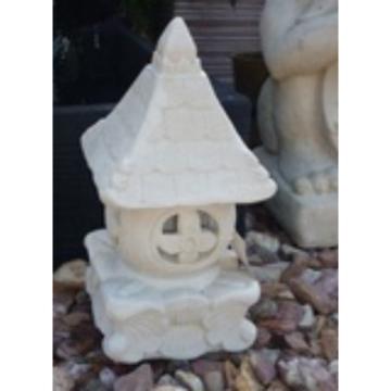 SGR024 Creme Triangle Lamp