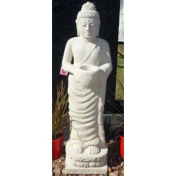 SGR029 Creme Candle Buddha