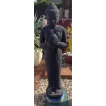 SGR131 Black Standing Buddha